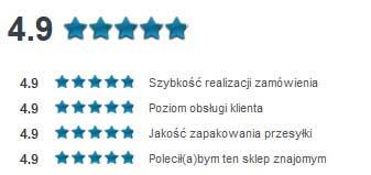 ranking Opineo dla sklepu zegarek.net